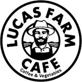 Lucas farm cafeロゴ画像